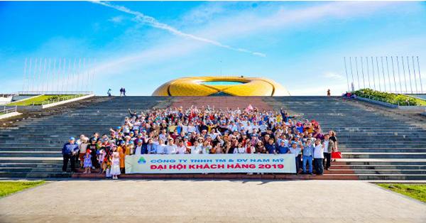 Công ty Thuốc Thủy Sản Nam Mỹ tổ chức du lịch 3 nước cho khách hàng.