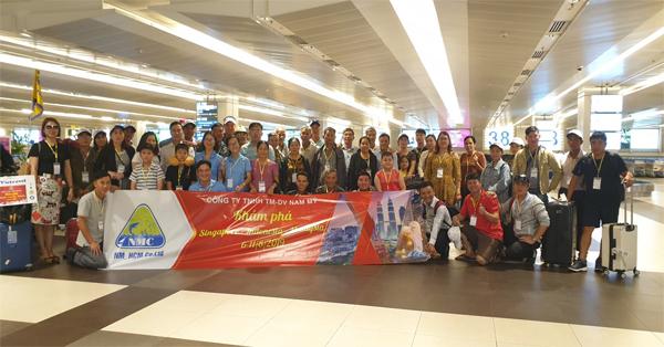 Công ty Thuốc Thủy Sản Nam mỹ tổ chức tour du lịch 3 nước Singapore, Indonesia, Malaysia cho Khách hàng