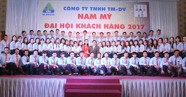 Đại hội tri ân khách hàng - kỷ niệm 7 năm thành lập công ty TNHHH TM&DV NAM MỸ